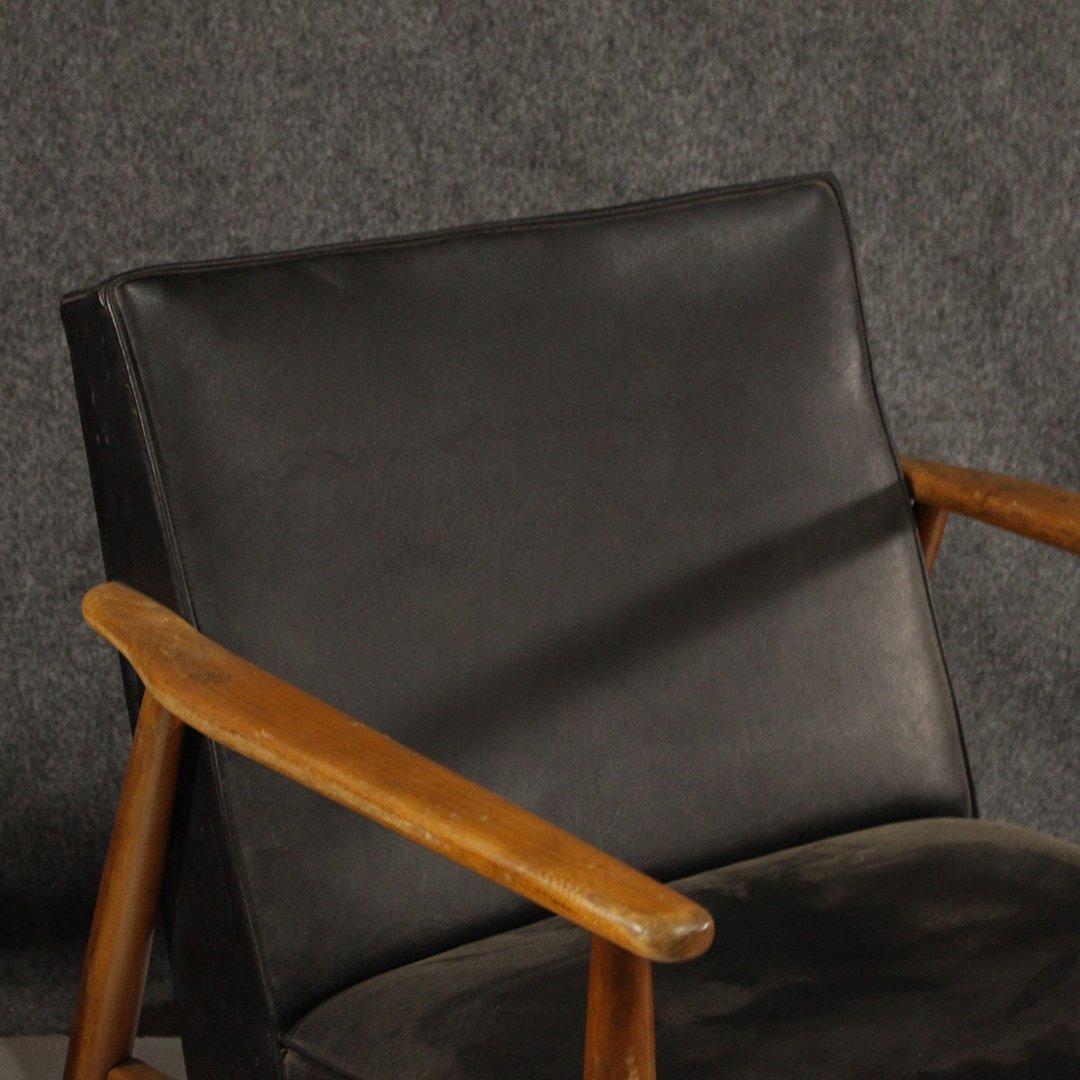 Two [2] Mid-Century Danish Design Lounge Arm Chairs - 7