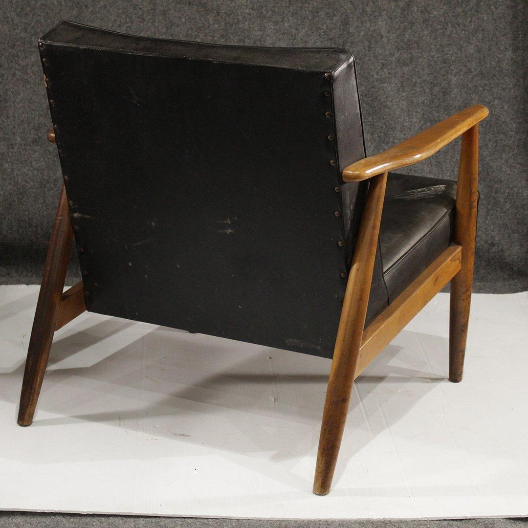 Two [2] Mid-Century Danish Design Lounge Arm Chairs - 8