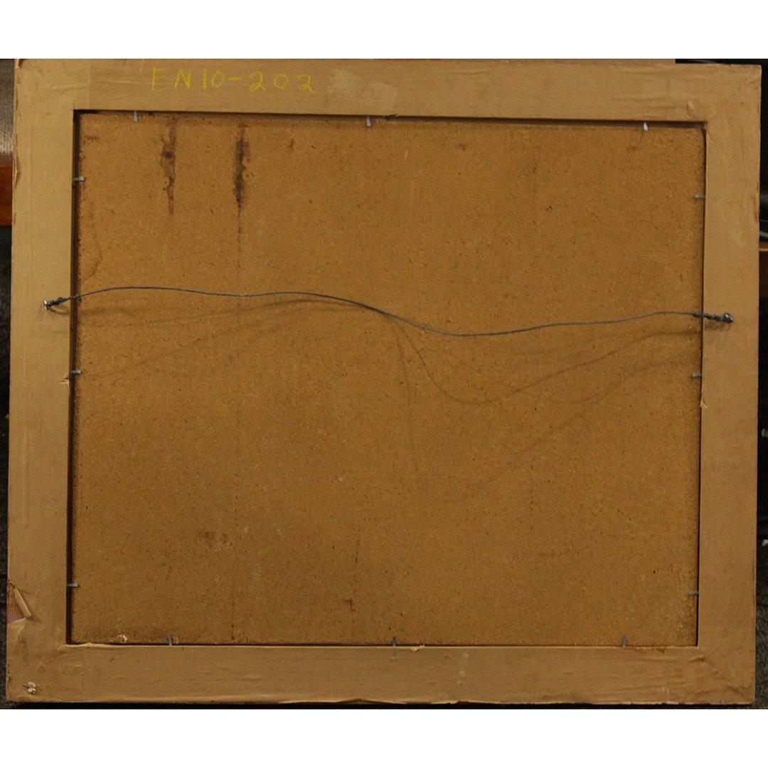 Robert Duncan, Oil on board, Daisy Flower in Landscape - 5