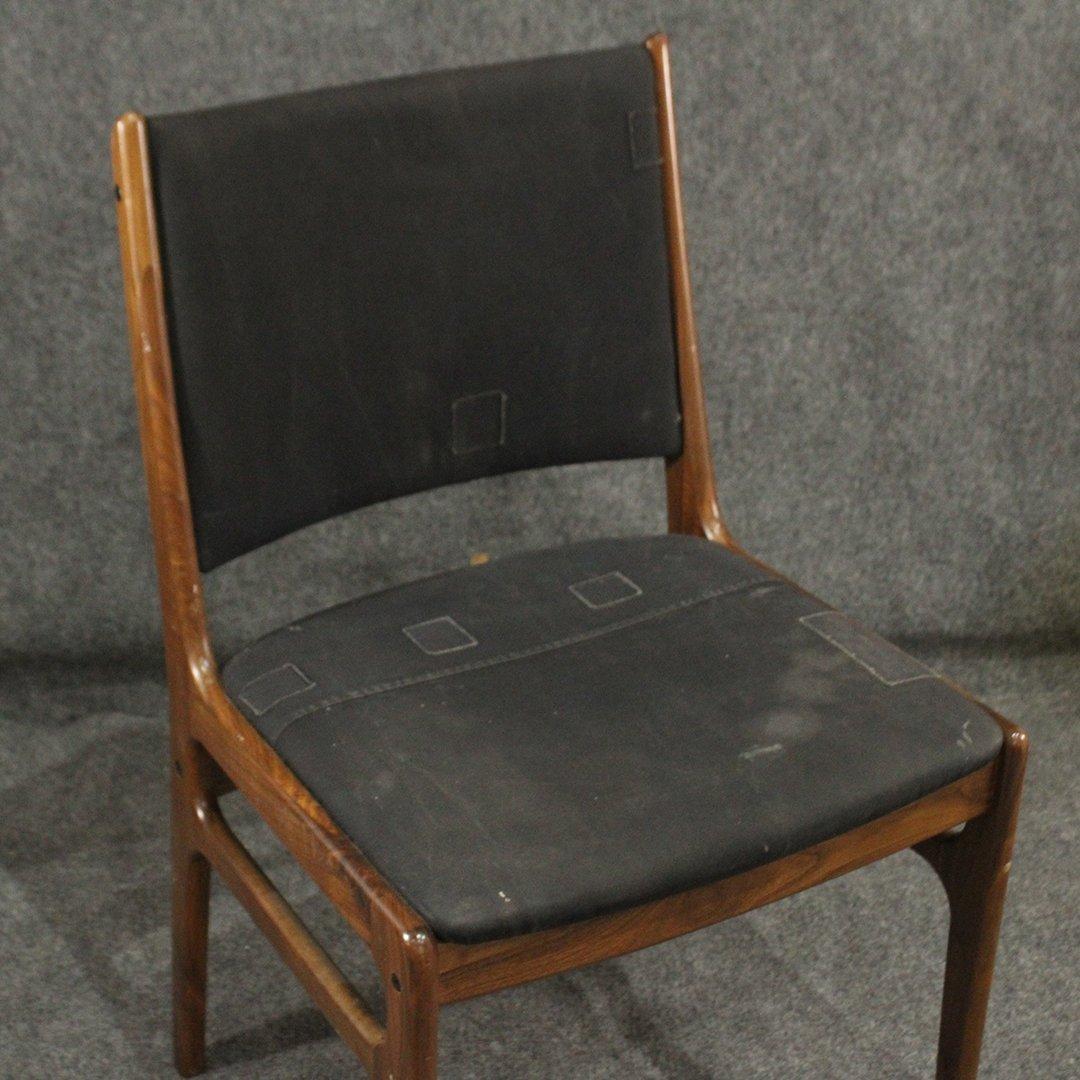 Danish Design Mid-Century Modern Teak Side Chair - 2