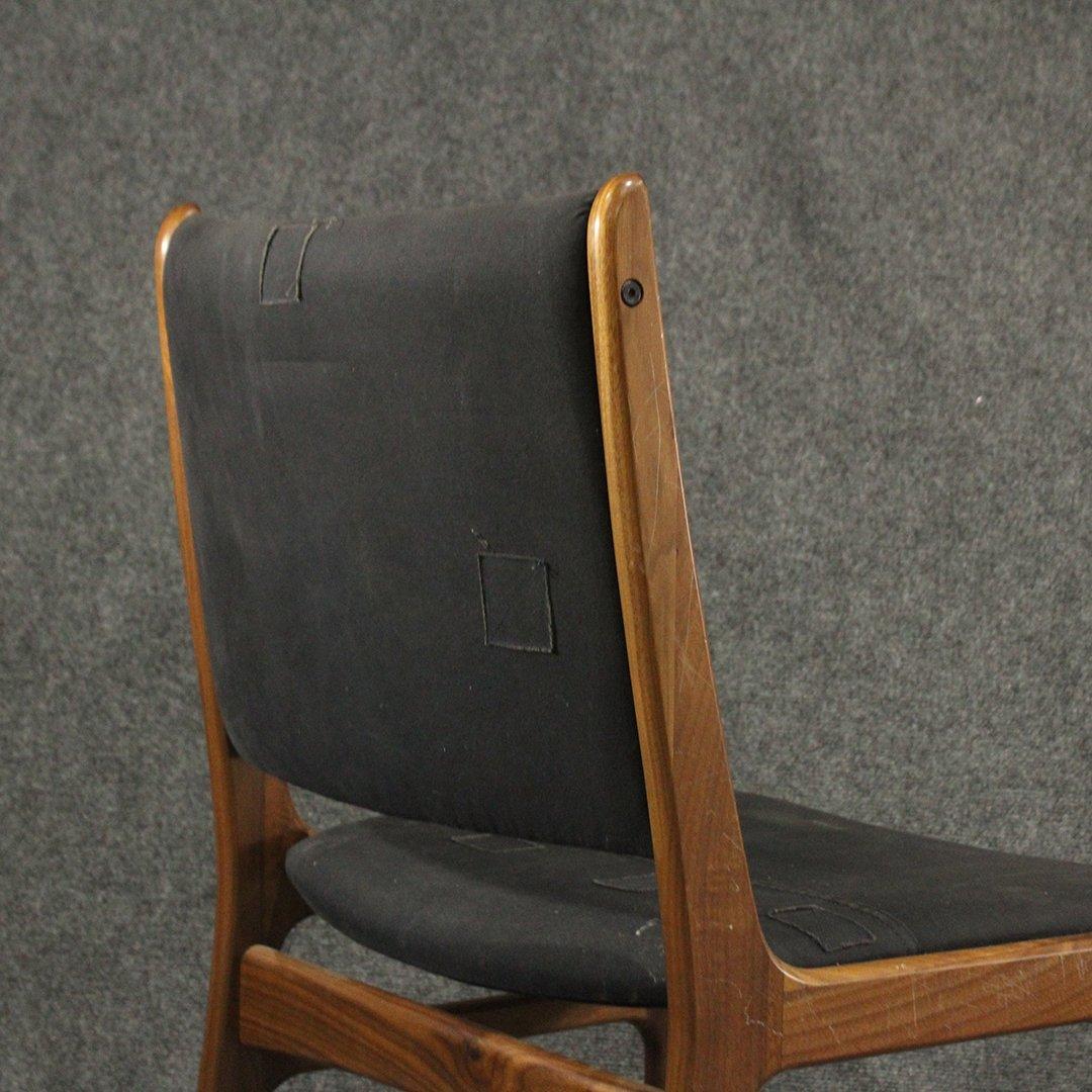 Danish Design Mid-Century Modern Teak Side Chair - 4