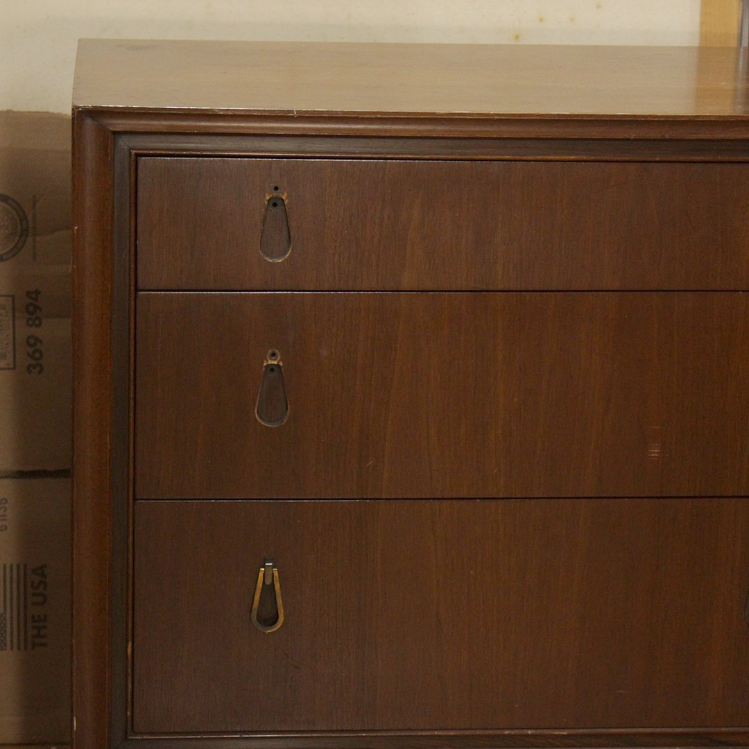 Mount Airy Walnut Dresser - 2