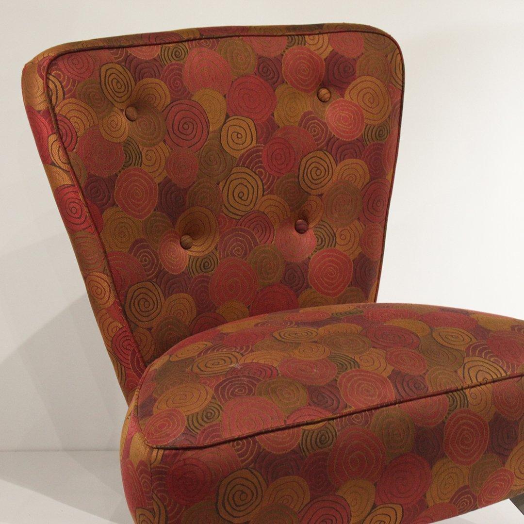 Mid-Century Modern Italian Design Occasional Chair - 2