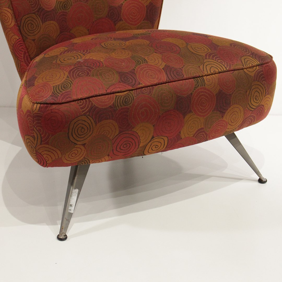 Mid-Century Modern Italian Design Occasional Chair - 3