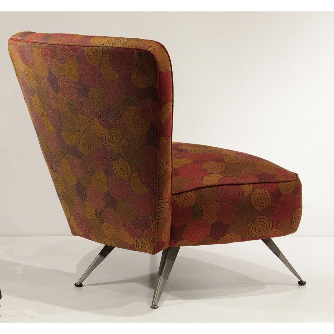 Mid-Century Modern Italian Design Occasional Chair - 4
