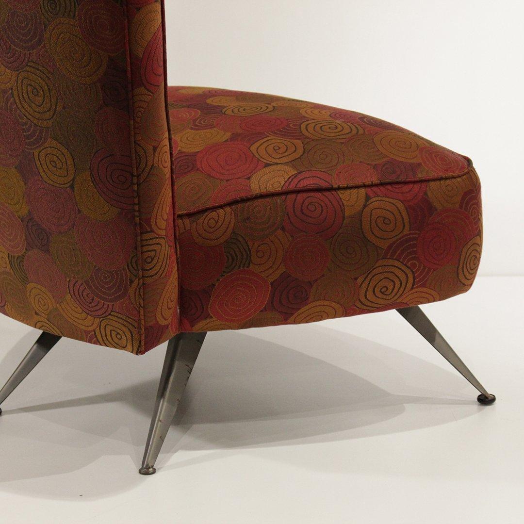 Mid-Century Modern Italian Design Occasional Chair - 5