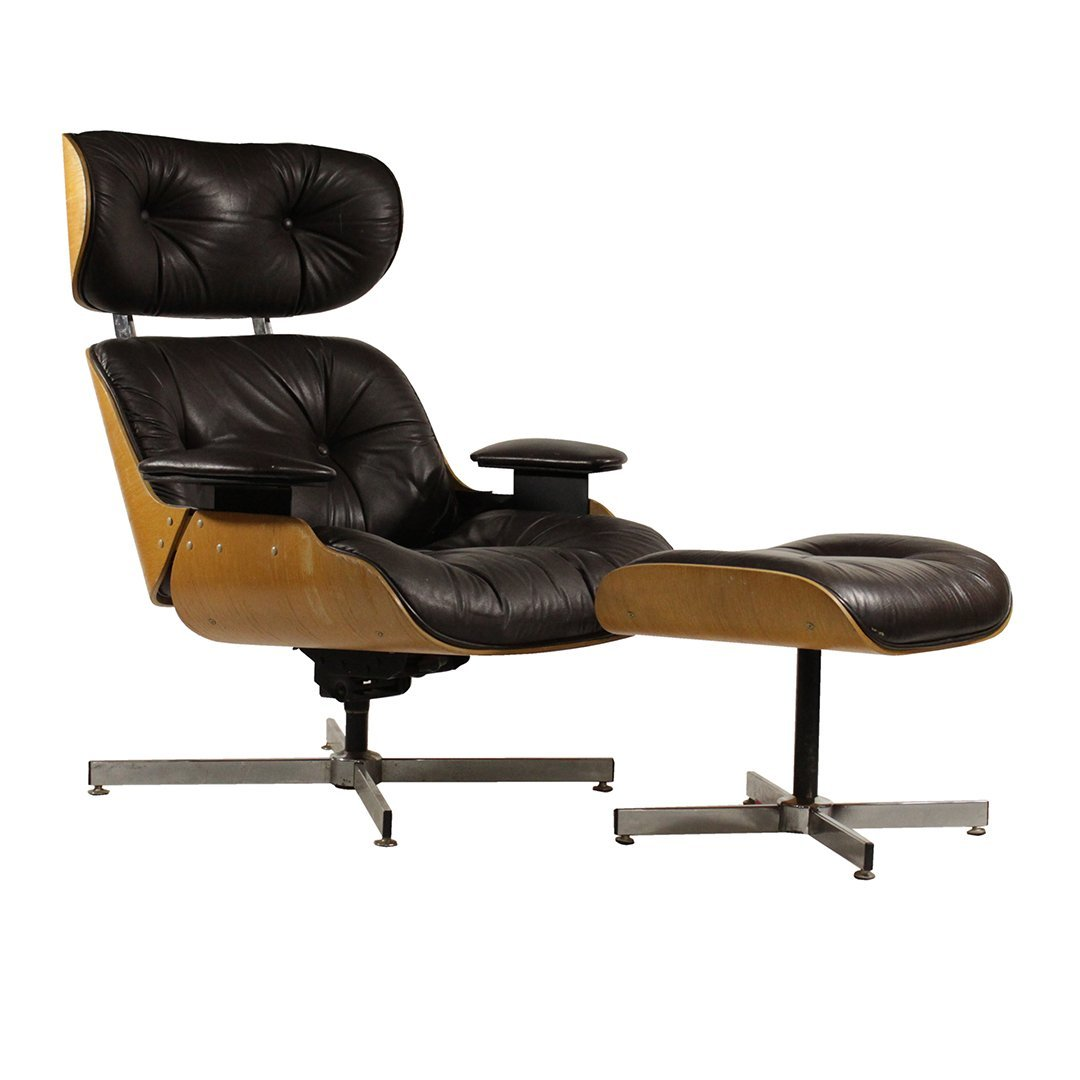 Herman Miller - Eames Style Lounge Chair and Ottoman