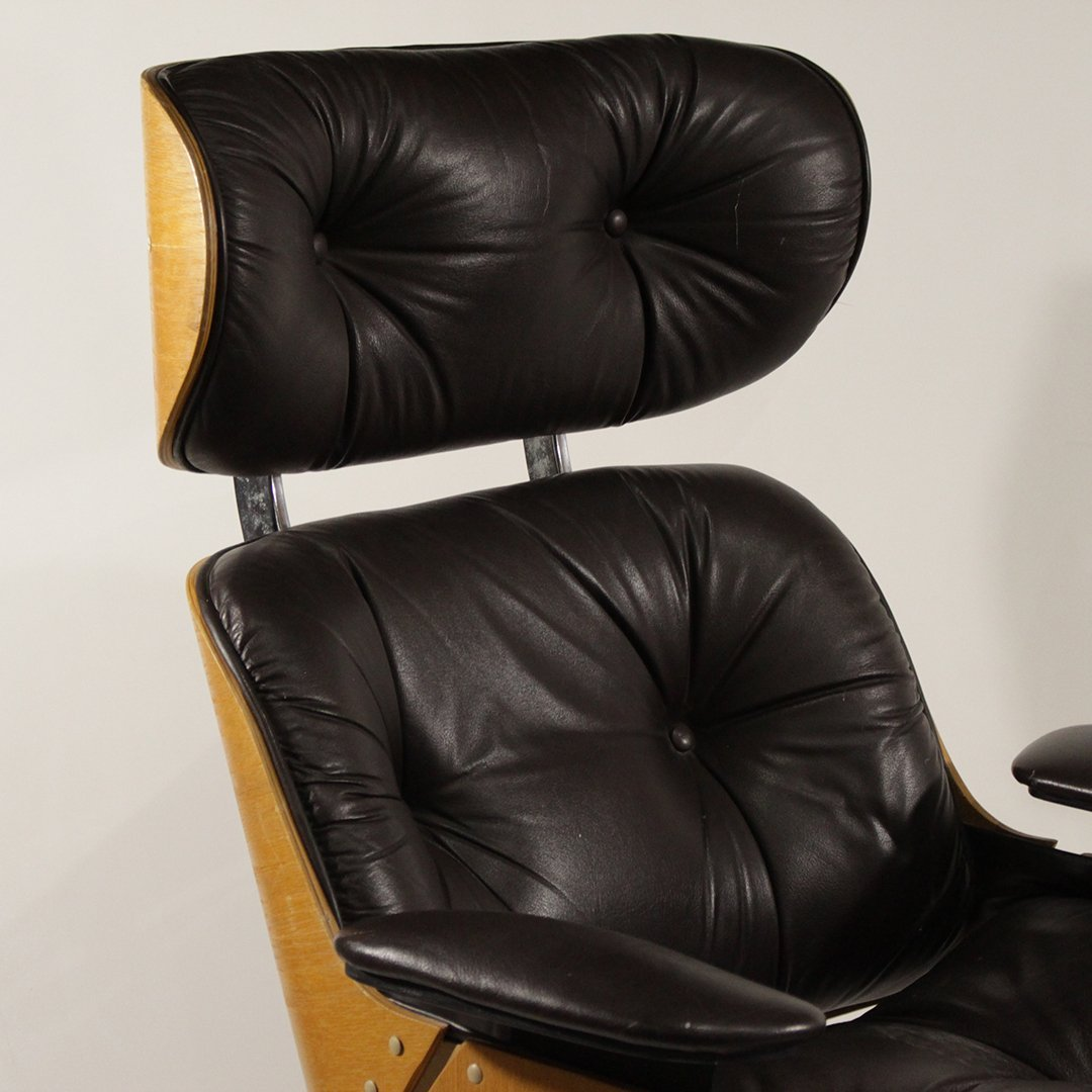 Herman Miller - Eames Style Lounge Chair and Ottoman - 2