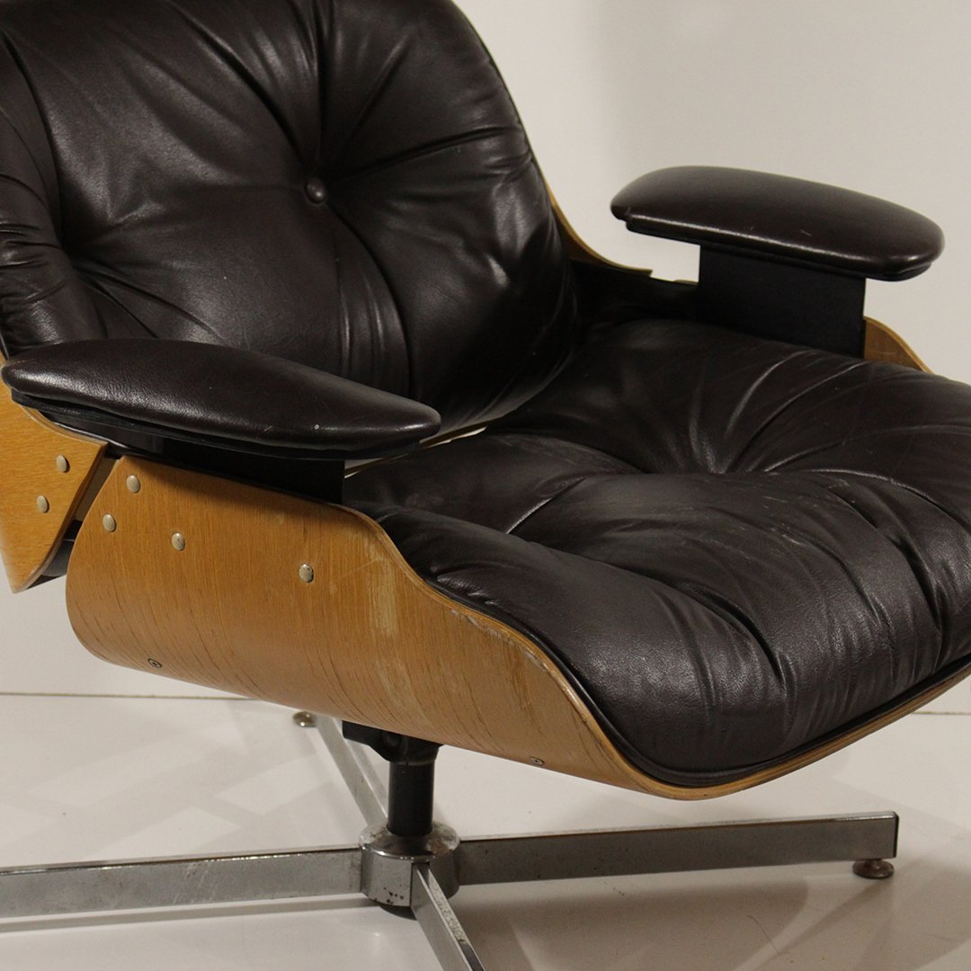 Herman Miller - Eames Style Lounge Chair and Ottoman - 3