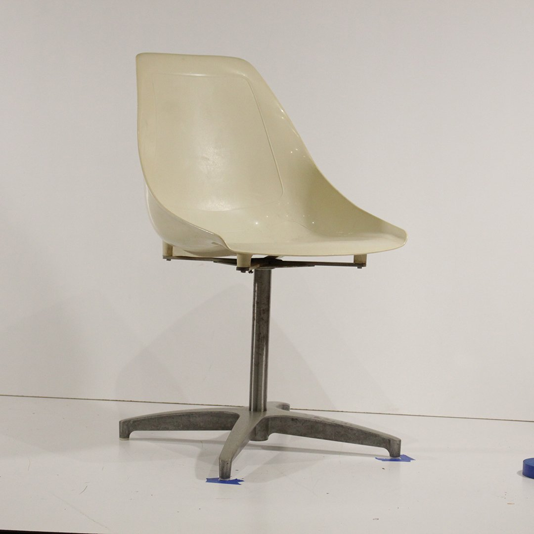 Four [4] Mid-Century Modern Molded Shell Chairs U.S.A. - 3