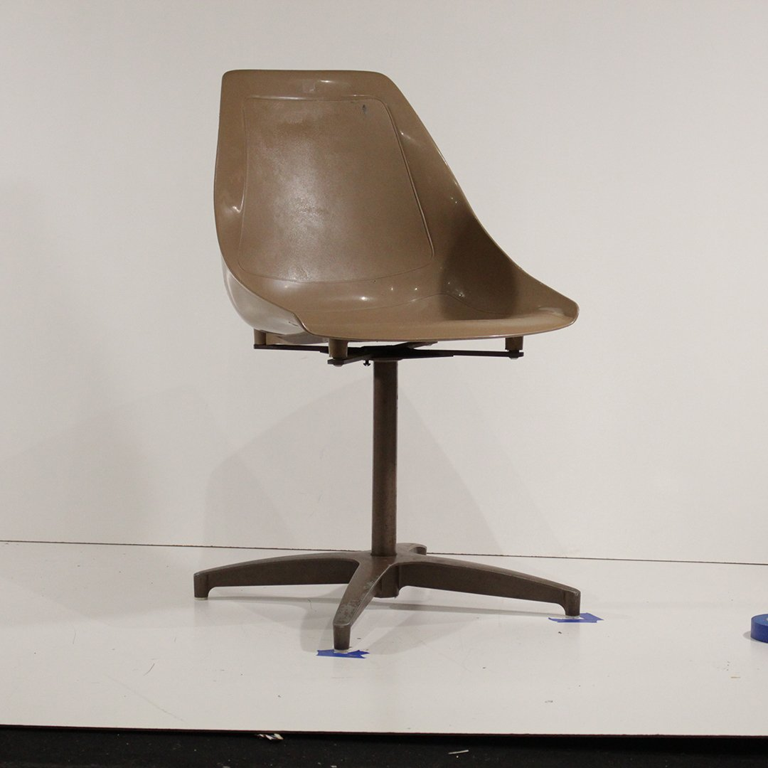 Four [4] Mid-Century Modern Molded Shell Chairs U.S.A. - 4