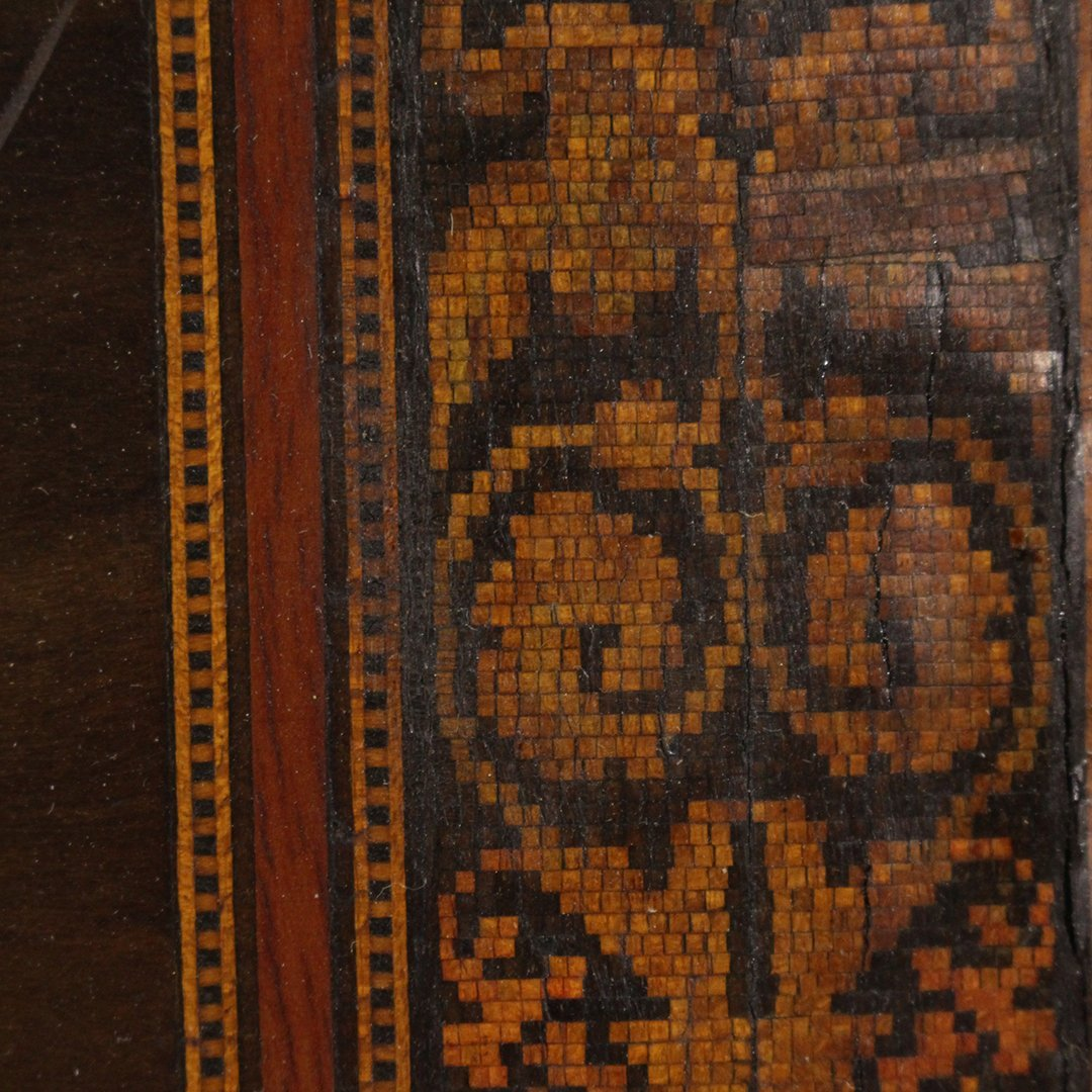 19th C. Quality Italian Marquetry Inlaid Wall Plaque - 6