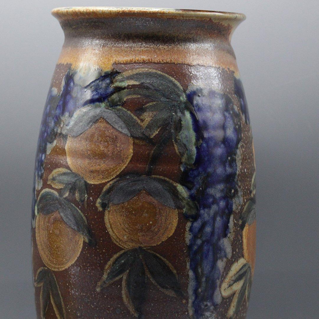 Two [2] P Morris Modern Stoneware Art Pottery - 2