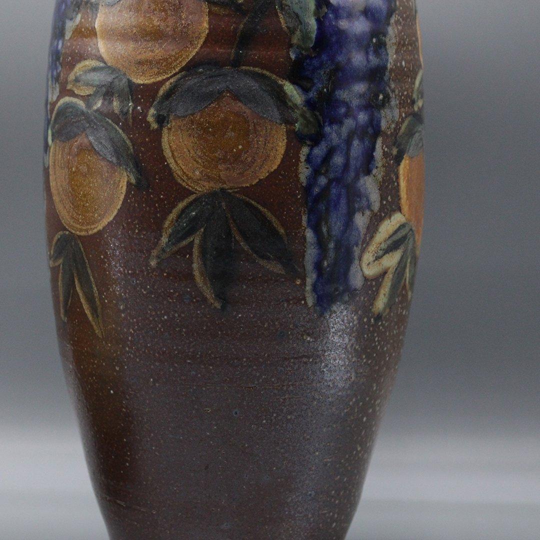 Two [2] P Morris Modern Stoneware Art Pottery - 3