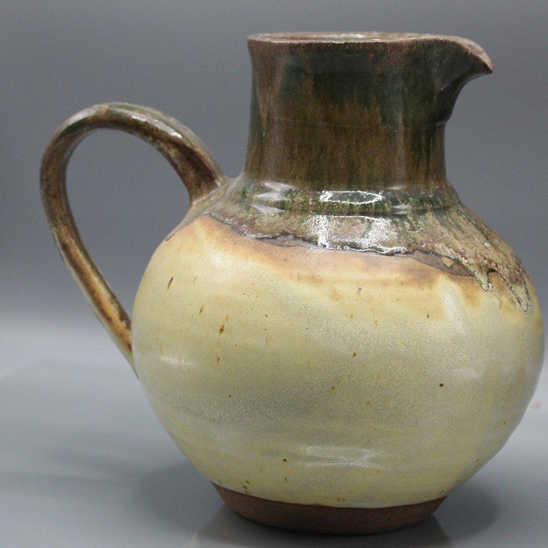 Two [2] P Morris Modern Stoneware Art Pottery - 4
