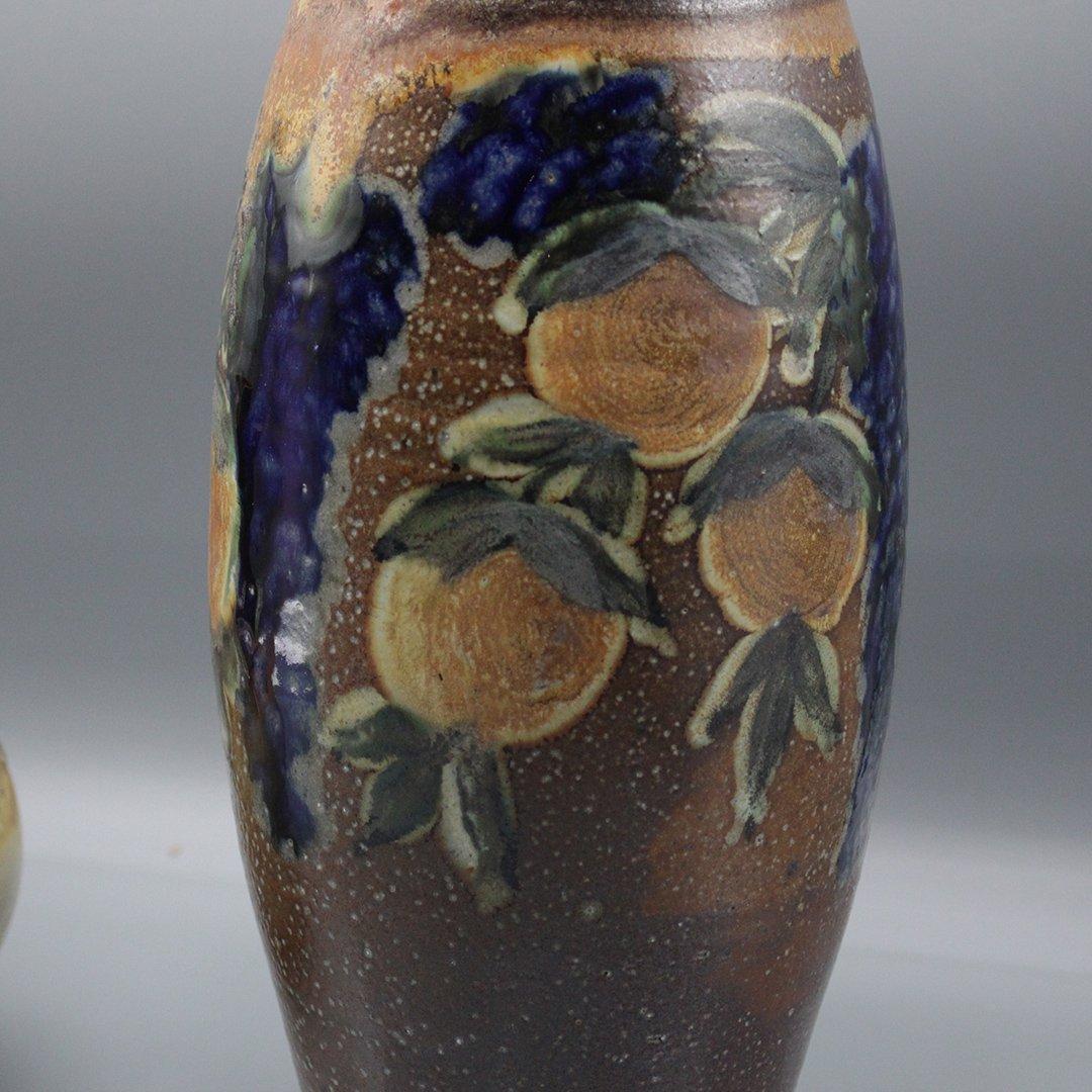 Two [2] P Morris Modern Stoneware Art Pottery - 6