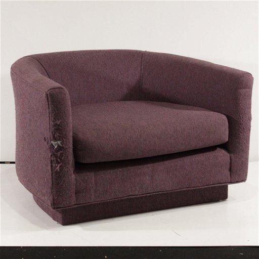 Excellent Milo Baughman For Thayer Cogan Swivel Tub Chair Camellatalisay Diy Chair Ideas Camellatalisaycom