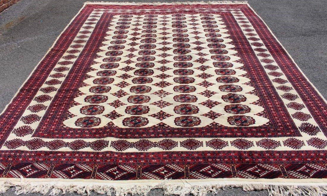Bokara Hand Made Oriental Area Size Wool Rug