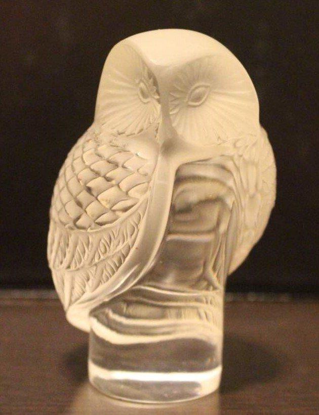 "SCARAB Platinum Figurine Lalique NEW ORIGINAL BOX 2/"" long Made in France #11764"