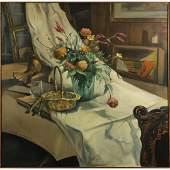 Orlando De Benedicts 1977, Oil/c Spectacular Still Life