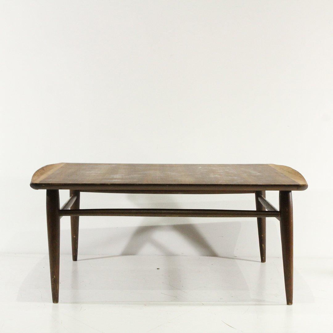 Mid-Century Modern Walnut Coffee Table