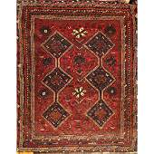 SemiAntique Persian Hand Made Wool Oriental Area Rug