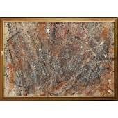 David Stein, Monumental Oil/c Jackson Pollock Style