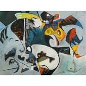 Walter, Mid-century Modern Abstract Rudolph Galleries