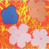 Andy Warhol Flowers Sunday B Morning Silkscreen