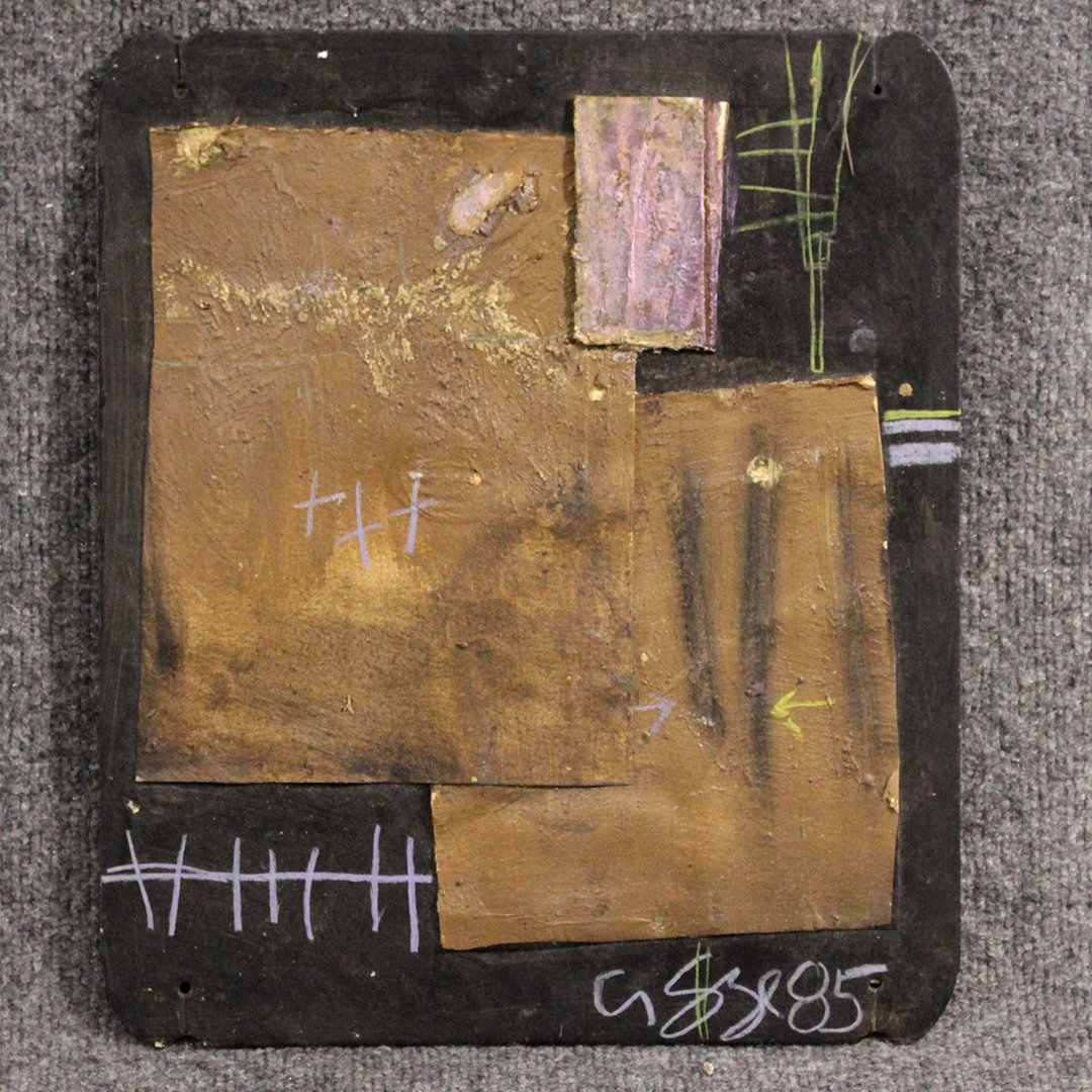 Agge, Brutalist Mid-Century Sculpture Wall Hanging