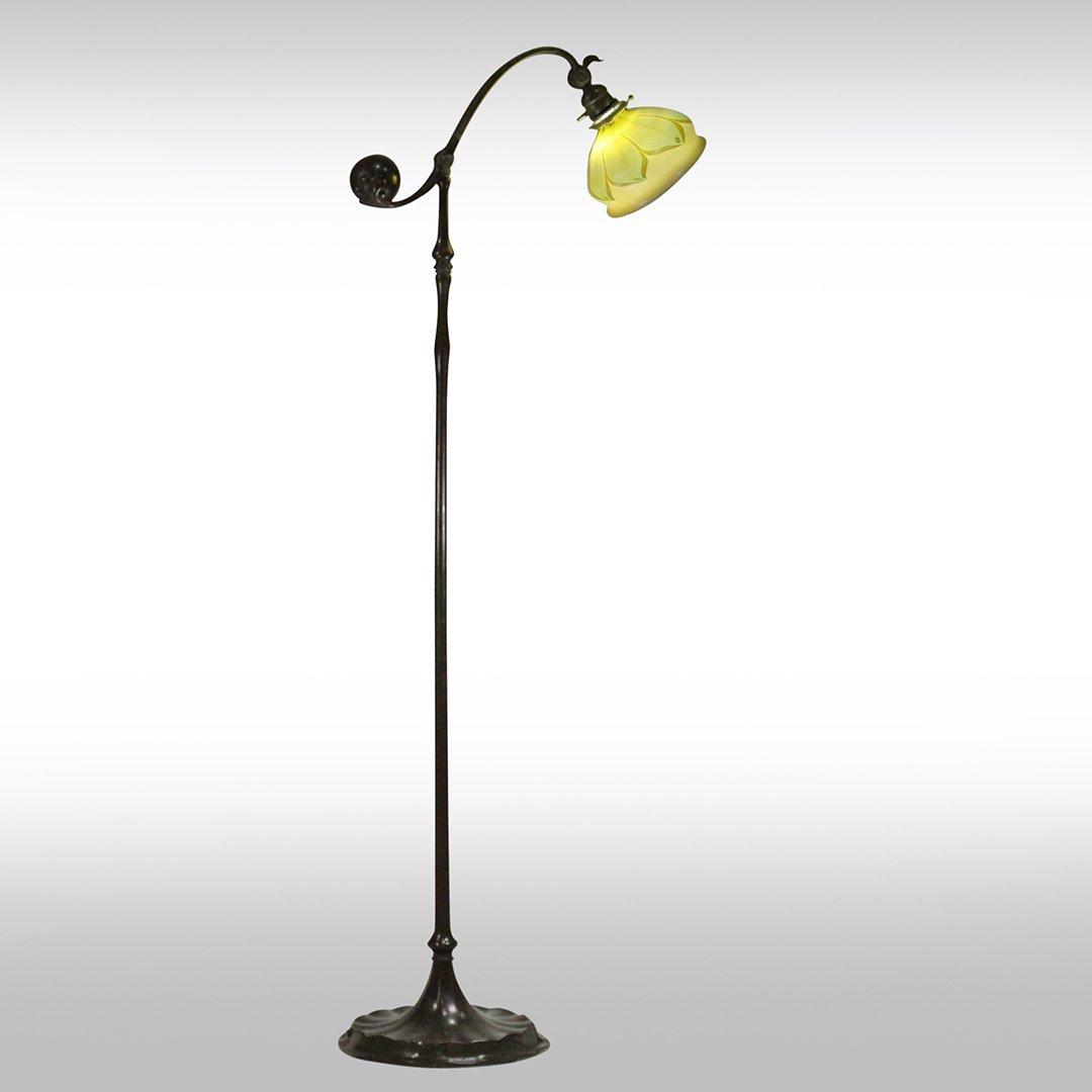 Tiffany Studios New York Counter Balance Floor Lamp