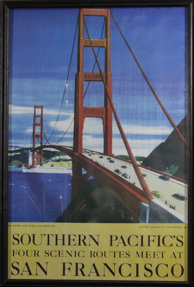 Travel Poster: Southern Pacific - San Francisco