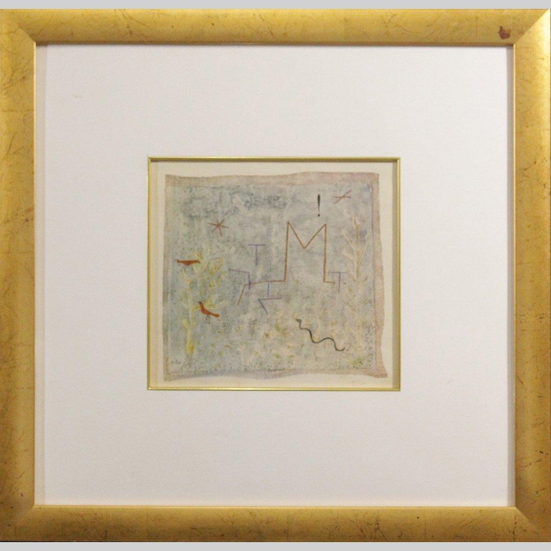 Paul Klee - Lithograph - Framed.