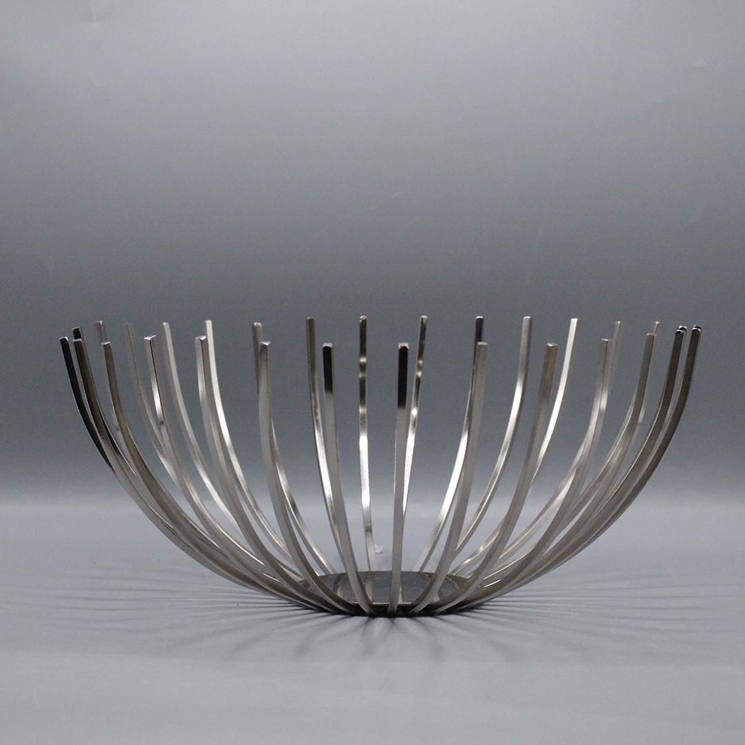 Modern Danish Design Metal Wire Center Bowl