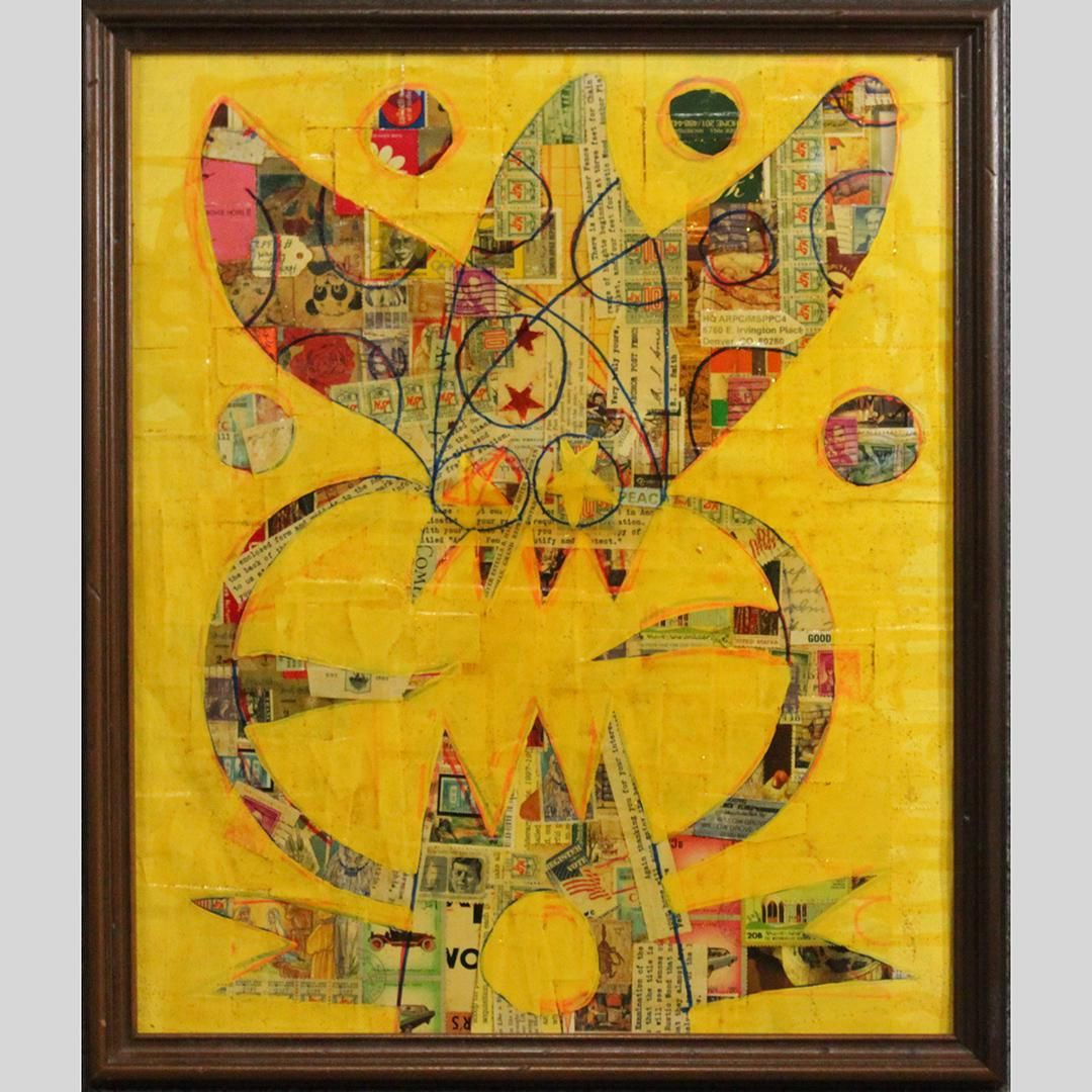 Wayne Cunningham, American, Modernism Abstract Birds
