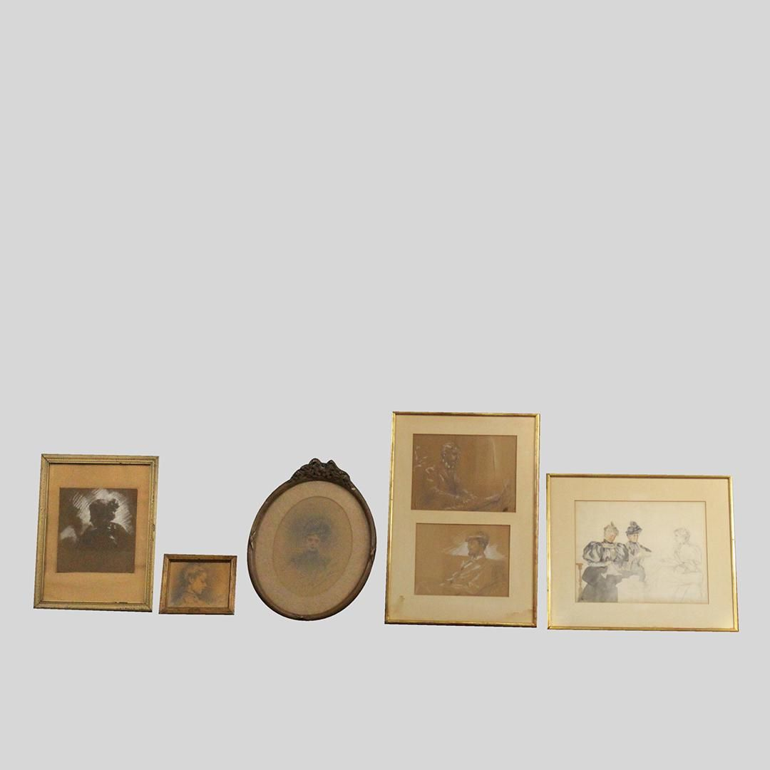 George De Mare, Group Lot Drawings, Sketches