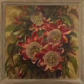 Klanke, Quality Floral Still Life Oil/c Painting