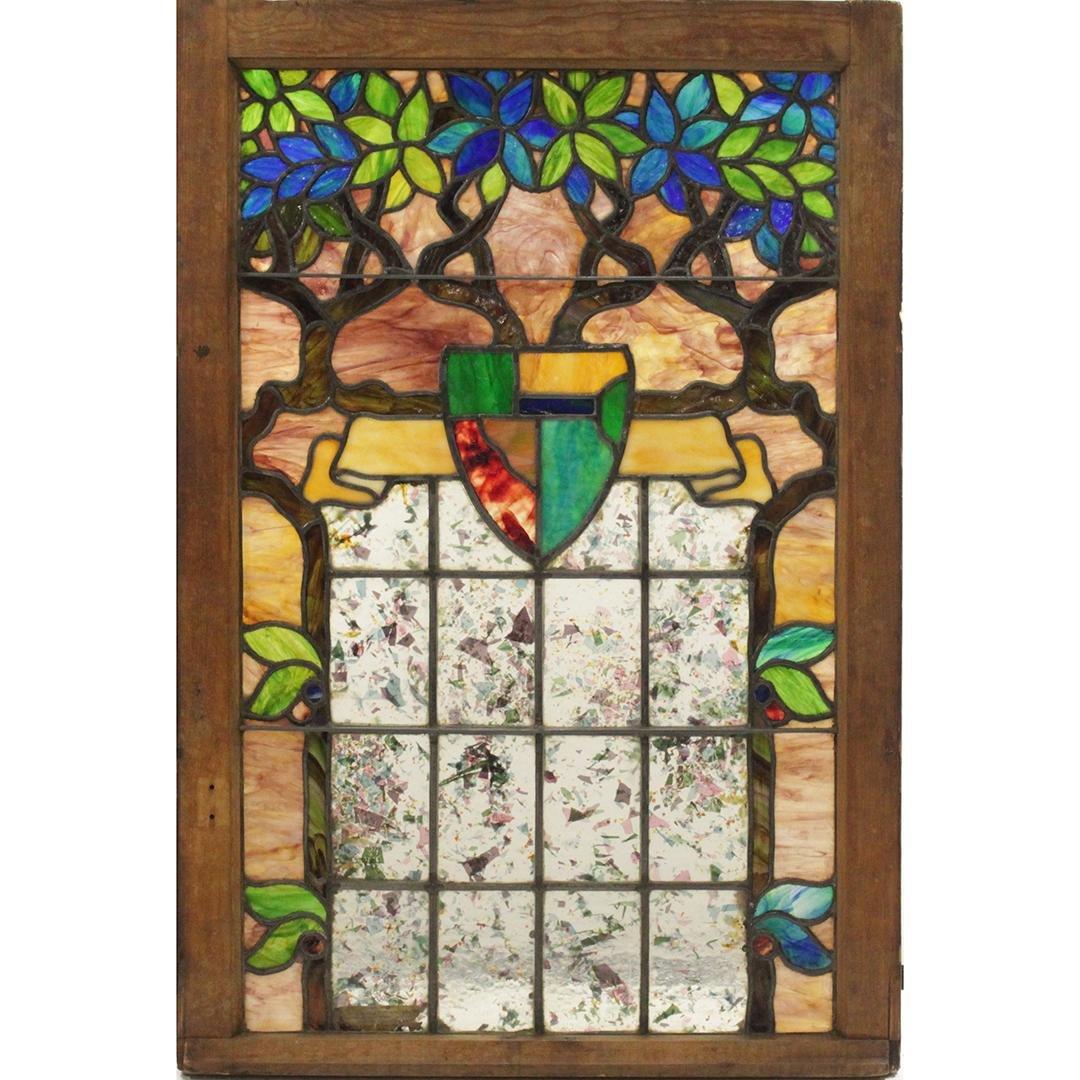 Tiffany Glass & Decorating Company TREE OF LIFE Window