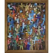 Wayne Cunningham, American 20th C, Modernism Collage