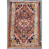 Hand Made Wool Persian Center Medallion Scatter Rug