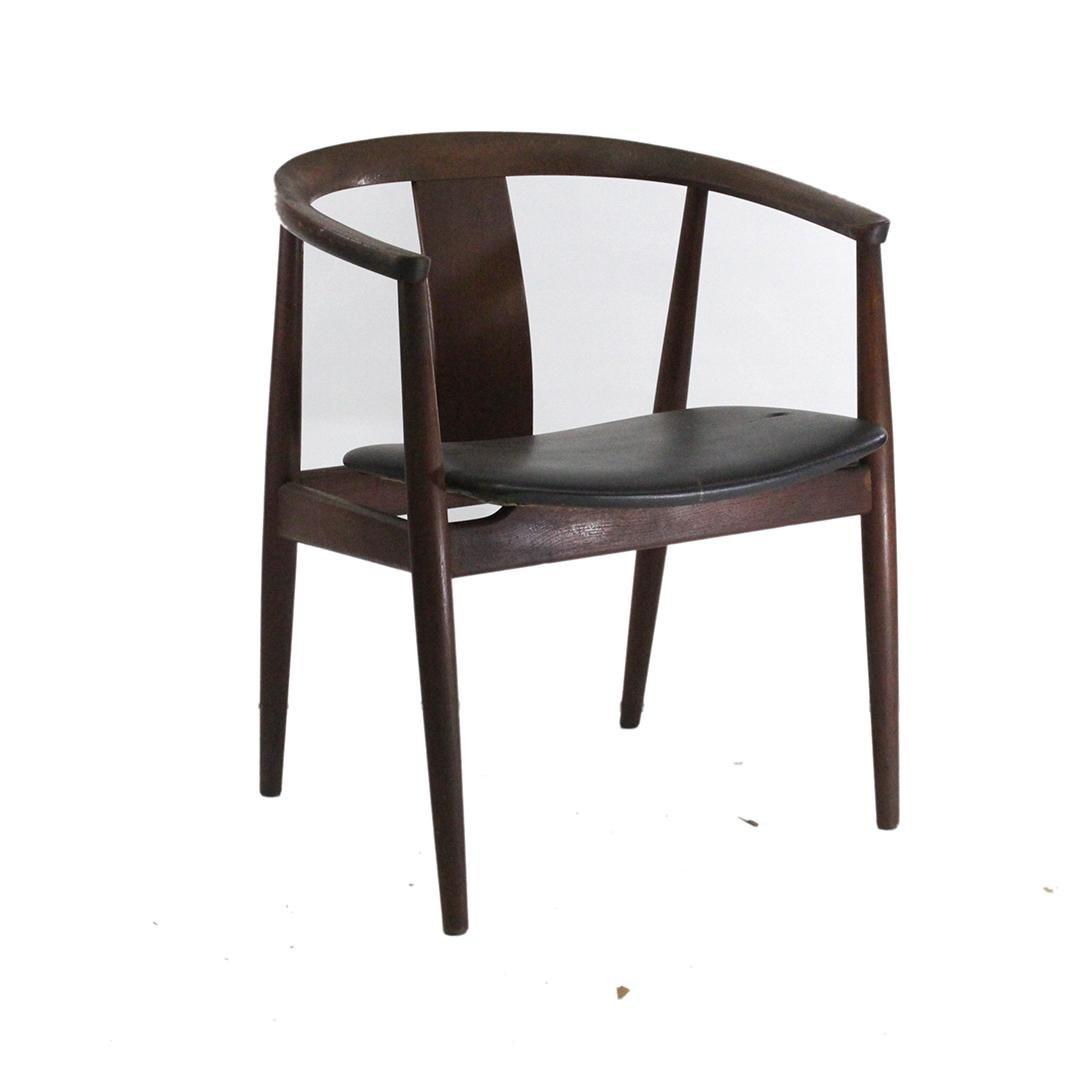 Mid-Century Modern Teak Danish Arm Chair