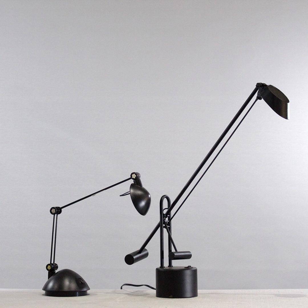 Italian Counter Balance Vintage MCM Desk Lamps
