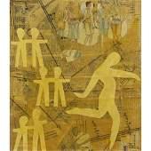 WAYNE CUNNINGHAM, American 20th C. Modernism Collage