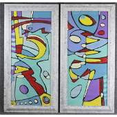 Wayne Cunningham American Modernism Abstract Double