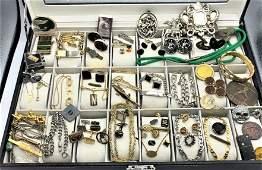[70] Seventy Assorted Costume Jewelry MAN LOT - Variety