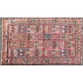 Persian Garden Design Hand Made Wool Oriental Rug
