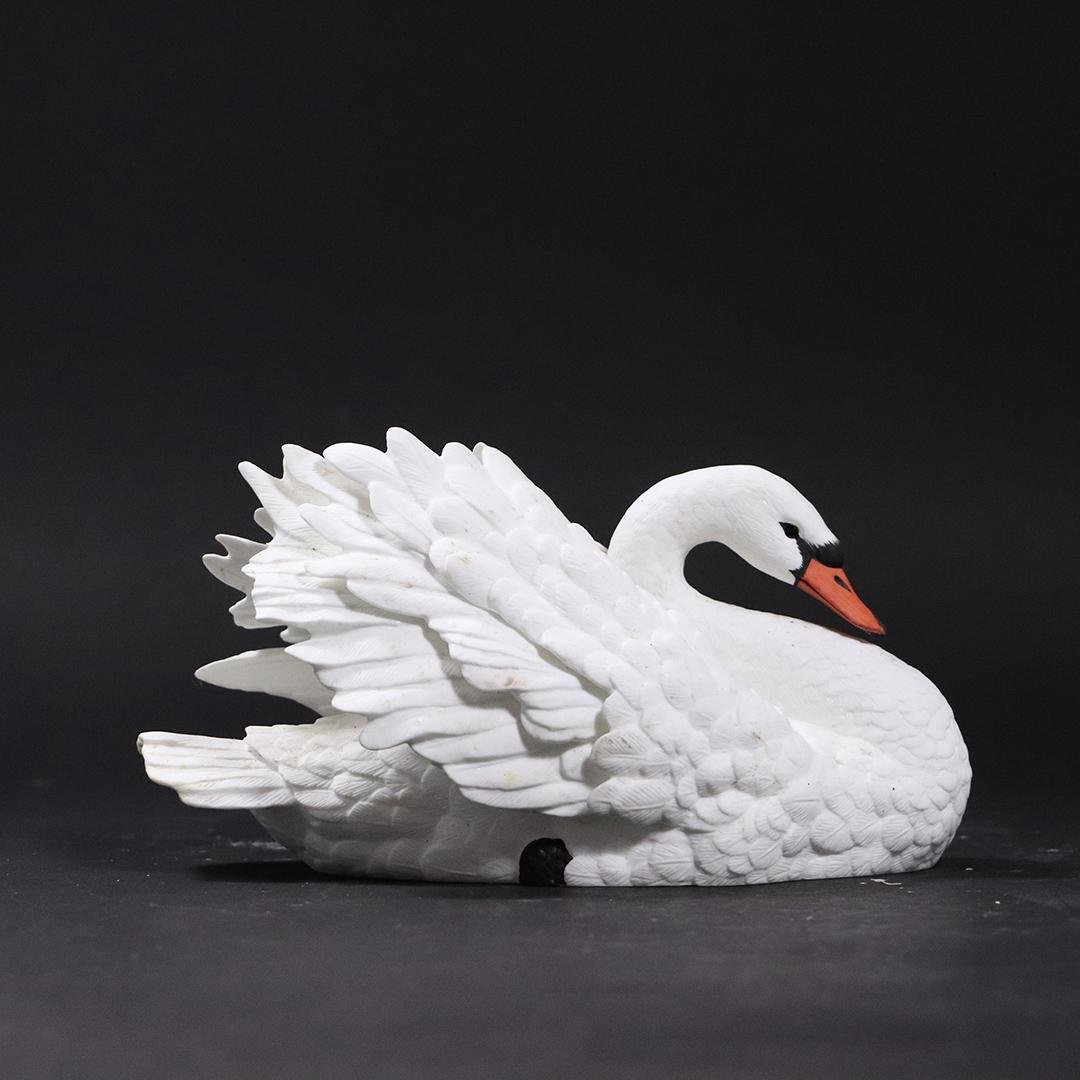 "LENOX Fine Porcelain ""The Graceful Swan""  Figure"