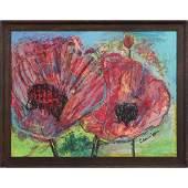 John Cronin, American, Oil/b Floral Still Life