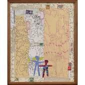 Wayne Cunningham American Modernism Abstract Marker