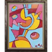 Wayne Cunningham American Modernism Abstract Painting
